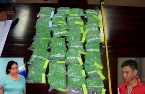 Đôi nam nữ vận chuyển 30.000 viên ma túy tổng hợp bằng tàu lửa bị bắt