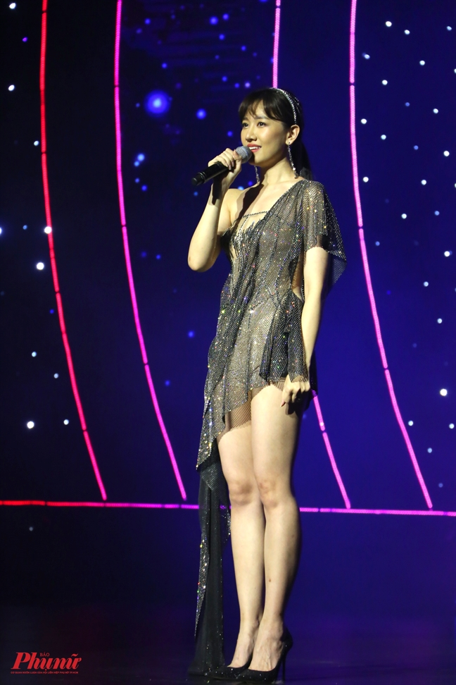 Chi 4 bo do, Hari Won khang dinh nhan sac thang hang sau khi ket hon voi Tran Thanh