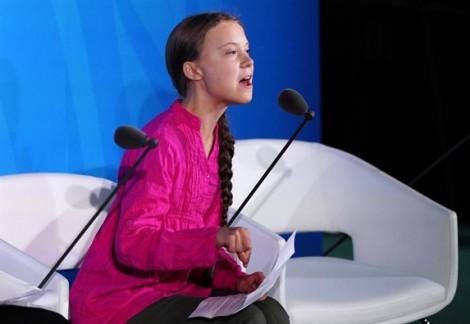 Nhà hoạt động môi trường nhí 'dập tơi bời' các lãnh đạo thế giới