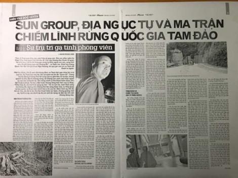 Vụ sư trụ trì 'gạ tình' phóng viên: Giáo hội Phật giáo Việt Nam khẩn trương xác minh