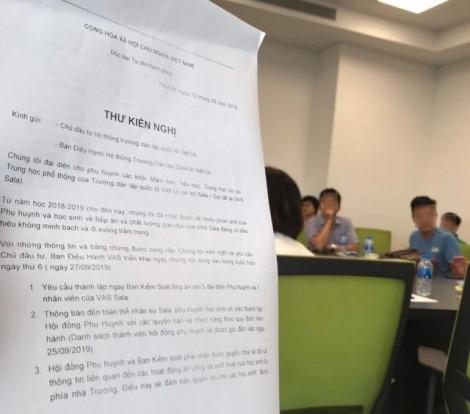 Bị tố suất ăn học sinh 'nhìn muốn khóc',  Trường Quốc tế Việt Úc vẫn chưa thay nhà cung cấp suất ăn
