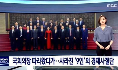 Điều tra vụ 9 người 'đi theo đoàn Quốc hội Việt Nam trốn ở lại Hàn Quốc'
