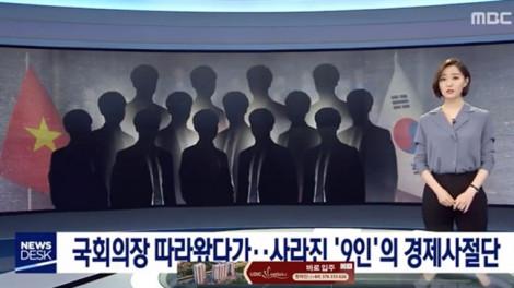 Bộ Kế hoạch Đầu tư giải thích vụ 9 người bỏ trốn ở Hàn Quốc