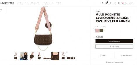Chiếc túi '3 trong 1' của Louis Vuitton trở thành cơn sốt của làng thời trang thế giới