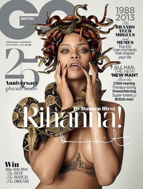 Sau cáo buộc giết anh chị ruột, Aaron Carter xăm lên mặt hình ca sĩ Rihanna
