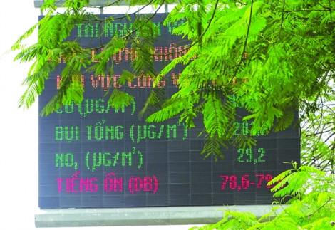 Sài Gòn mịt mù bụi độc, quan trắc lại rùa bò