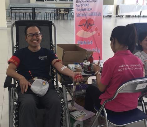 Diana Unicharm tổ chức chương trình hiến máu nhân đạo Vì sức khỏe cộng đồng