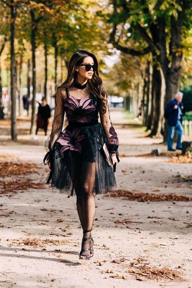 Thảo Tien lot top mac dep bao quoc te tai Paris Fashion Week 2019