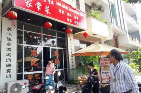 Đà Nẵng: Xử lý hàng chục nhà hàng, khách sạn vi phạm ở 'phố Tàu'