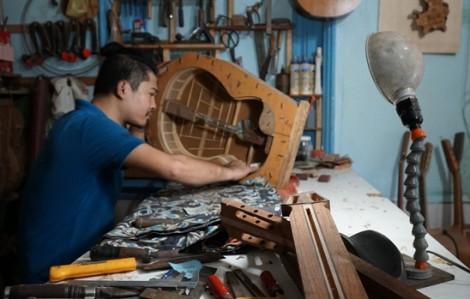 Chiêm ngưỡng những cây đàn guitar handmade giá ngàn đô ở Sài Gòn