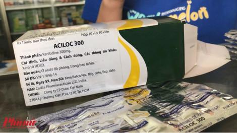 Thu hồi thuốc có thể gây ung thư: Cấm vẫn bán!