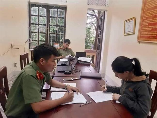Xu phat nguoi phu nu 'loan tin' heo dich chon o nghia trang bi dao trom