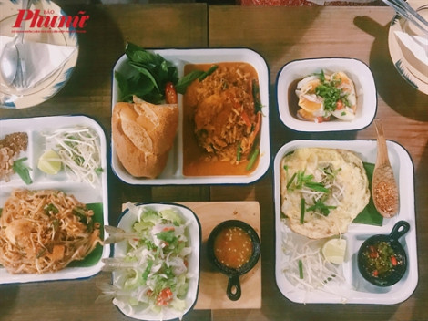 'Ăn cơm uống nước' với món vị Thái tại quán nhỏ đáng yêu này