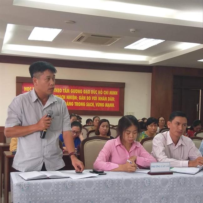 Hoi vien phu nu 'to' nhung van de dan sinh voi chinh quyen