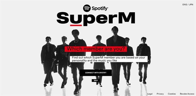 Ban la ai trong SuperM? Kham pha ngay cung Spotify