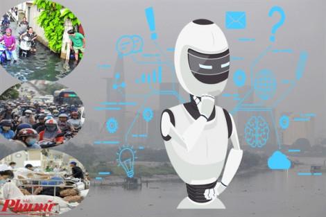 TP.HCM ứng dụng trí tuệ nhân tạo trong giao thông, y tế, cấp thoát nước từ năm 2020