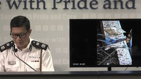 Cảnh sát Hồng Kông tìm thấy bom hẹn giờ tự chế trong cuộc biểu tình ngày 13/10