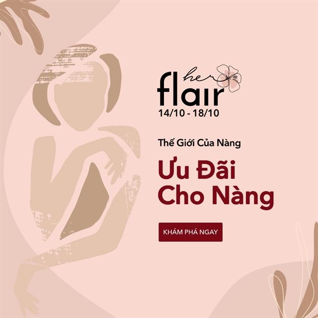 Leflair chao don ngay Phu nu Viet Nam bang 'Herflair - The gioi rat rieng cua nang'