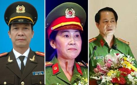 Thi hành kỷ luật 3 phó giám đốc Công an tỉnh Đồng Nai