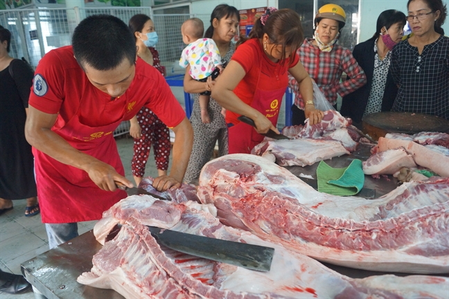 San luong thit heo ca nuoc giam 8%
