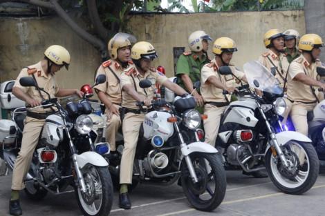 TP.HCM ra quân xử lý vi phạm giao thông vào ban đêm