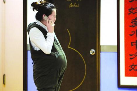 Không khí ô nhiễm  làm tăng 50%  nguy cơ sẩy thai