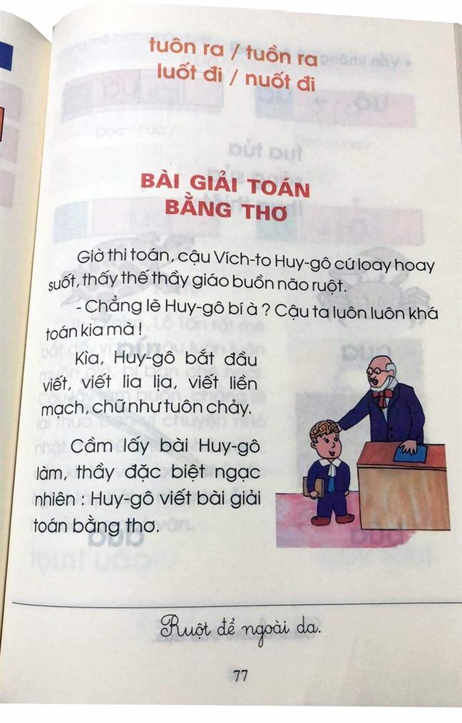 Bat ngua voi cach phien am 'thuan Viet' trong sach giao khoa
