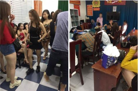 Tạm giữ 185 nam thanh, nữ tú trong quán bar ven Sài Gòn để test ma túy