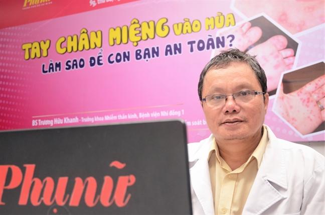Giao luu truc tuyen: Tay chan mieng vao mua, lam sao de con ban an toan?