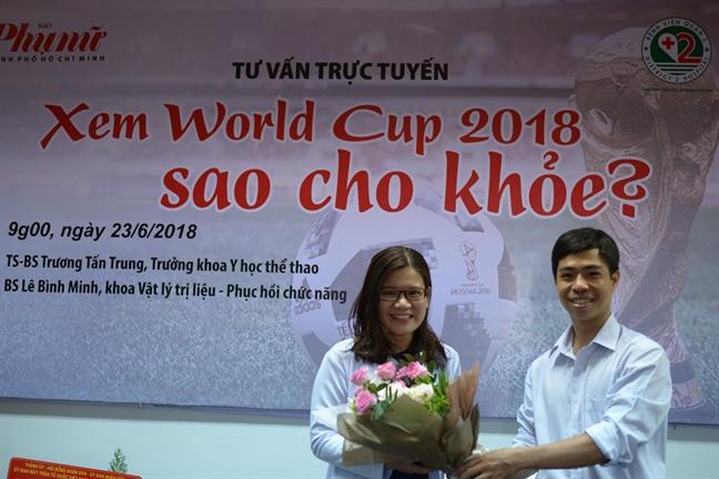 Giao luu truc tuyen: Xem World Cup 2018 sao cho khoe?