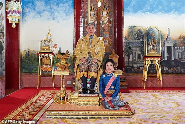 Hoang phi tung la nu tuong cua Thai Lan bi tuoc bo moi chuc vi vi 'bat trung'
