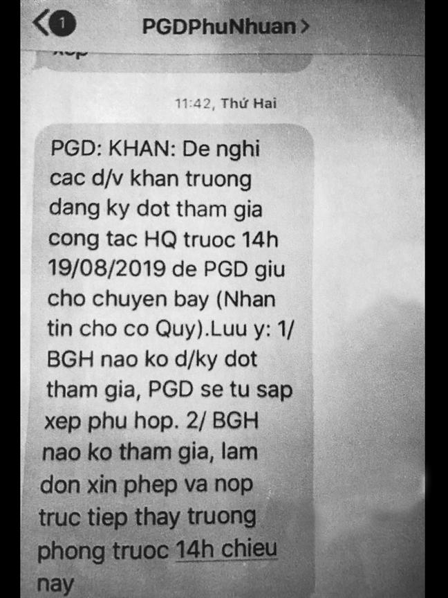 Qua Han Quoc to chuc lop boi duong:  'sang' nhu nganh giao duc quan Phu Nhuan!