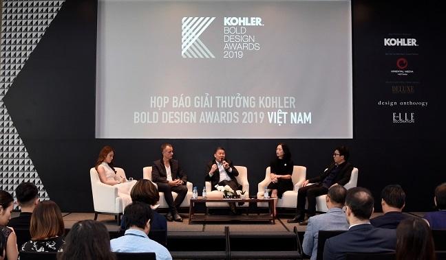 Kohler ra mat giai thuong thiet ke 'Kohler Bold Design Awards' lan dau tien tai Viet Nam