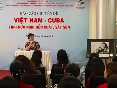 Triển lãm chuyên đề Việt Nam – Cuba