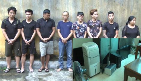 Nhóm chuyên trộm tài sản ở trường học sa lưới