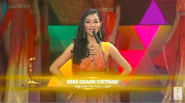 Chung ket 'Hoa hau Hoa binh Quoc te 2019': Viet Nam lot top 10 nho binh chon, Venezuela dang quang