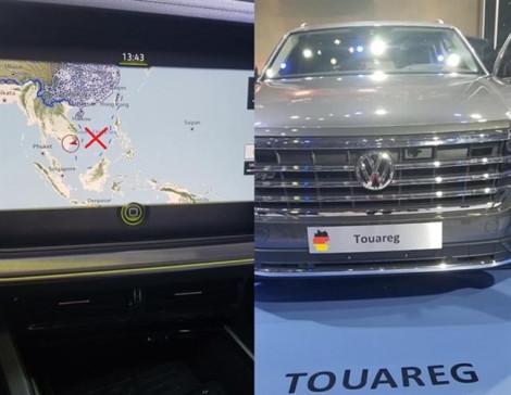 'Đường lưỡi bò' Trung Quốc lọt vào triển lãm ô tô Việt Nam