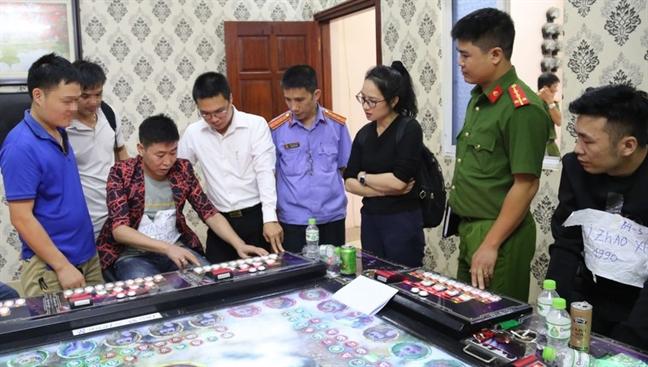 Cong an tinh Bac Ninh triet pha 5 tu diem co bac cua nguoi Trung Quoc
