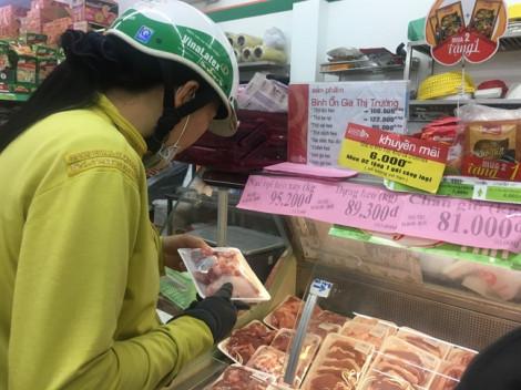 Giá thịt heo bình ổn tăng thêm từ 6.000-16.000 đồng/kg