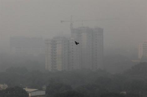 Ô nhiễm không khí nghiêm trọng ở thủ đô Ấn Độ