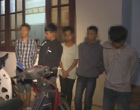 Nhóm thiếu niên nghiện ma túy gây ra gần 20 vụ trộm cắp