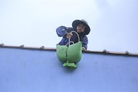 Người dân Khánh Hòa chèn chống nhà cửa, sẵn sàng ứng phó cơn bão số 6