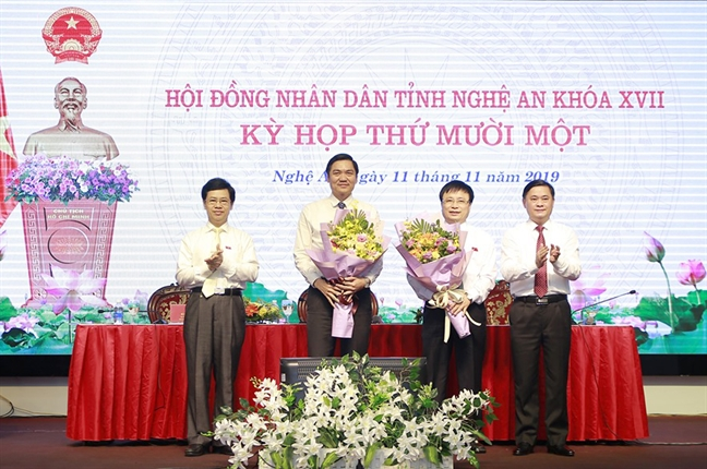 Bi thu Huyen uy Nam Dan lam pho chu tich UBND tinh Nghe An