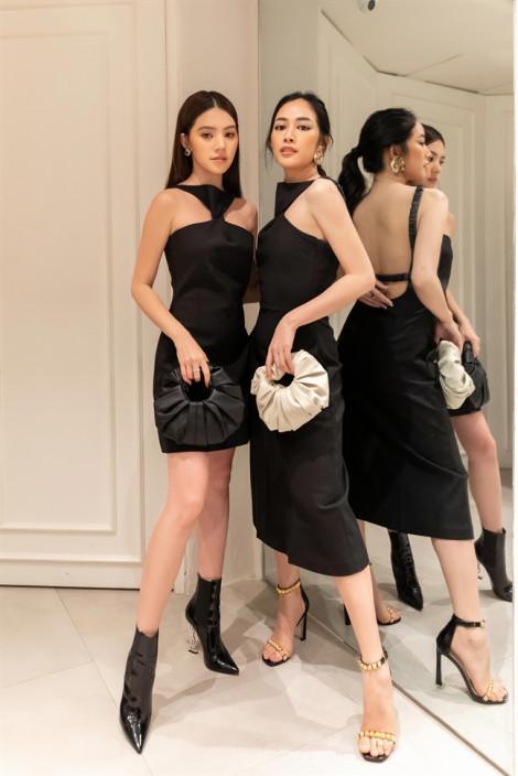 Mai Thanh Hà diện đồ đôi đọ sắc cùng Jolie Nguyễn