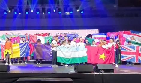 Việt Nam được vinh danh tại cuộc thi Sáng tạo Robot toàn cầu 2019