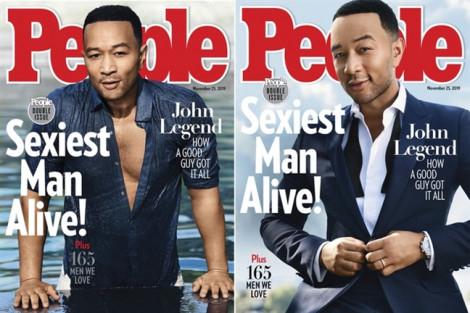 Thời trang lịch lãm của Người đàn ông quyến rũ nhất năm John Legend