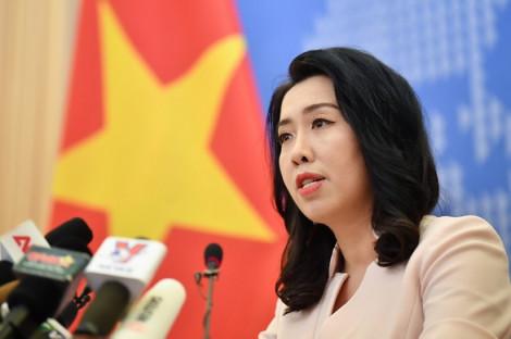 Việt Nam bác bỏ phát ngôn sai trái của Trung Quốc về Trường Sa và Hoàng Sa