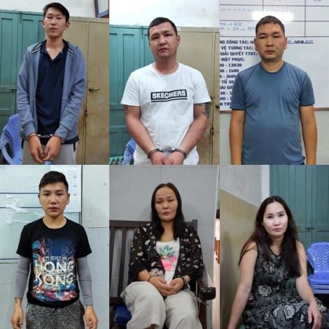 Bắt băng nhóm người Mông Cổ trộm cắp ở trung tâm TP.HCM