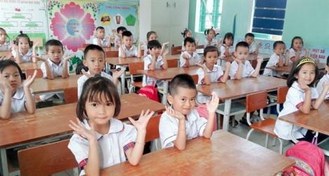 Học sinh lớp Một được giảm ba môn kể từ năm học 2020 - 2021