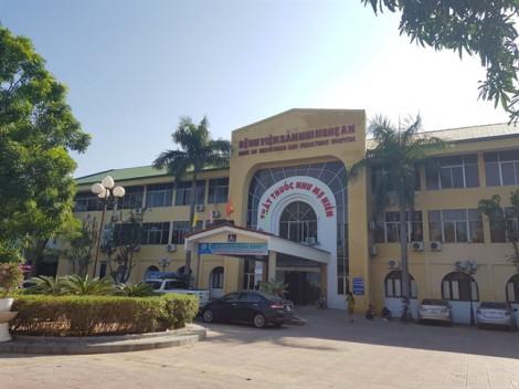 Bệnh viện Nghệ An cho rằng bệnh nhi tử vong do sốc nhiễm khuẩn chứ không do thuốc